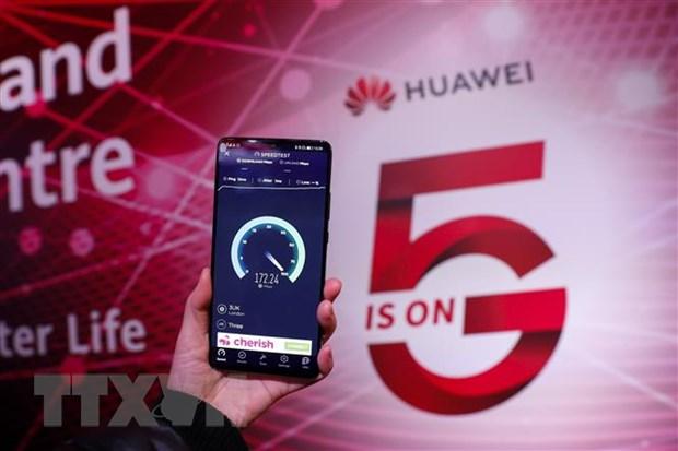 Huawei van de ngo kha nang thao luan voi Chinh phu Anh ve mang 5G hinh anh 1