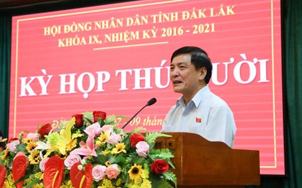 Hoi dong Nhan dan tinh Dak Lak thong qua 20 nghi quyet quan trong hinh anh 1