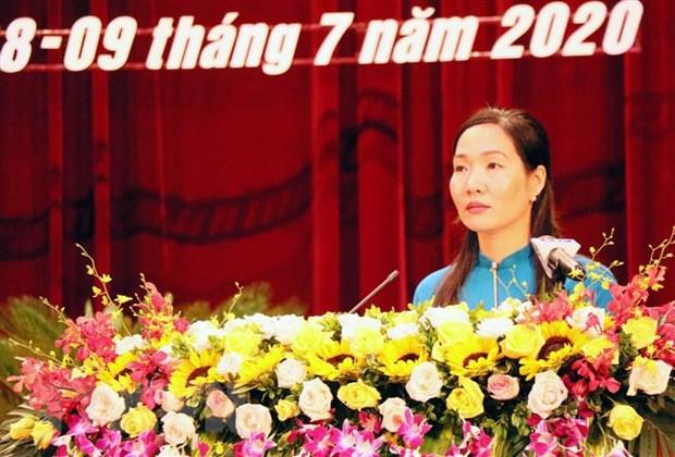 Quang Ninh bau bo sung nu Pho Chu tich Uy ban nhan dan tinh hinh anh 1