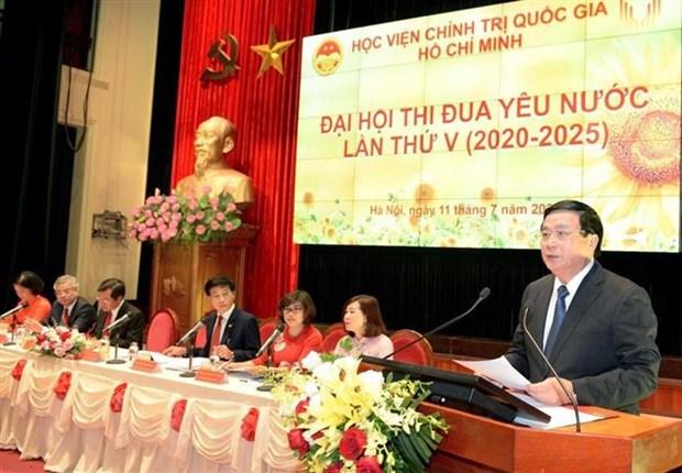Phat trien Hoc vien Chinh tri quoc gia Ho Chi Minh ngang tam nhiem vu hinh anh 2