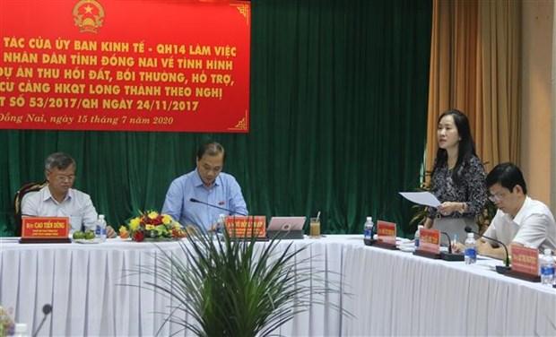 Dong Nai can dam bao tien do thu hoi dat san bay Long Thanh hinh anh 3