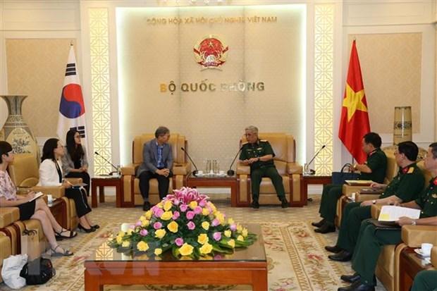 Thuong tuong Nguyen Chi Vinh tiep Giam doc KOICA tai Viet Nam hinh anh 1