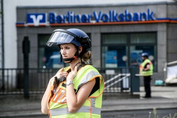 Cướp xe chở tiền của ngân hàng tại trung tâm Berlin