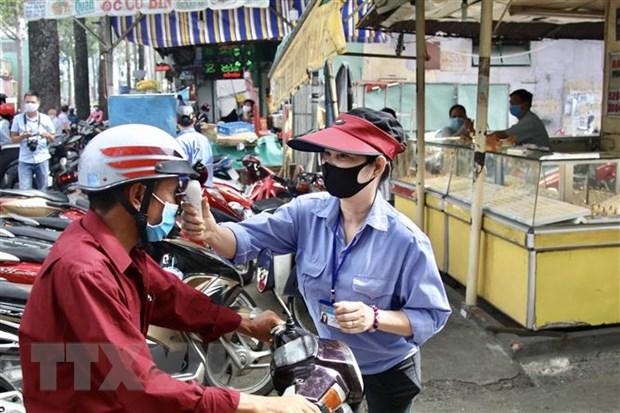 Thanh pho Ho Chi Minh tiep tuc ra soat nguoi tung den Da Nang hinh anh 1