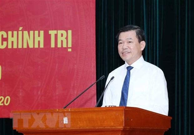 Ong Nguyen Hong Linh giu chuc Pho Truong ban Dan van Trung uong hinh anh 1
