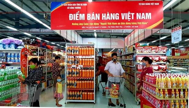Hang Viet ''chiem linh'' tai cac he thong phan phoi lon hinh anh 1