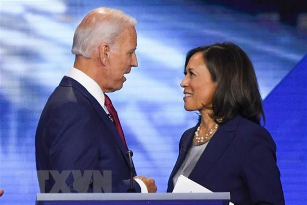 Dang Dan chu danh gia cao lien danh tranh cu cua ong Biden hinh anh 1