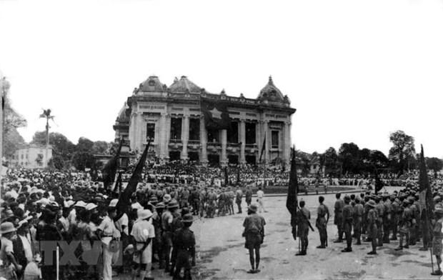 Bao chi Algeria ca ngoi y nghia lich su cua Cach mang thang Tam 1945 hinh anh 1