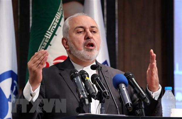Iran chi trich viec My kich hoat co che tai trung phat Tehran hinh anh 1