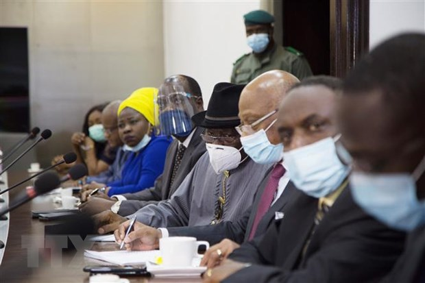 Phai doan ECOWAS no luc khoi phuc che do dan su o Mali hinh anh 1