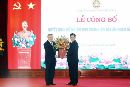 Ong Nguyen Van Tien giu chuc Pho Chanh an Toa an nhan dan Toi cao hinh anh 1