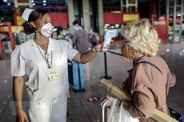 Cuba tiep tuc tang cuong cac bien phap han che de tai thu do La Habana hinh anh 1