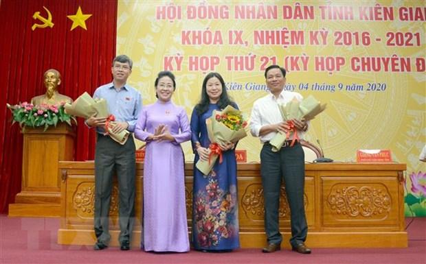Bau bo sung Pho Chu tich Hoi dong nhan dan tinh Kien Giang hinh anh 1