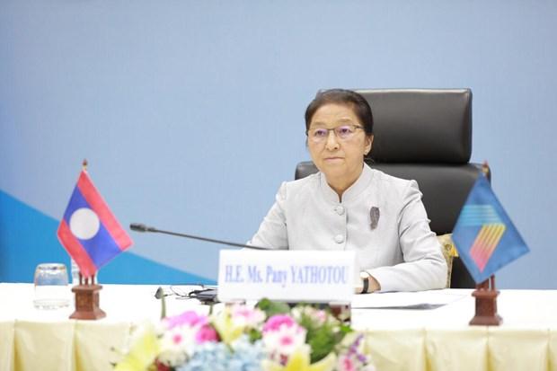Lao de cao vai tro Chu tich ASEAN va AIPA cua Viet Nam hinh anh 1