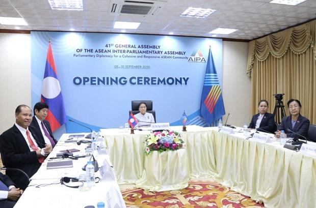 Lao de cao vai tro Chu tich ASEAN va AIPA cua Viet Nam hinh anh 2