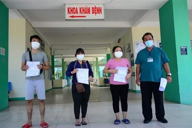 Them benh nhan duoc cong bo khoi benh tai Da Nang, Quang Tri hinh anh 1