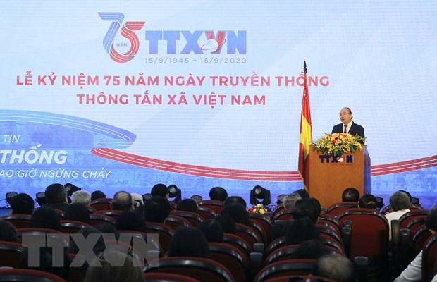 Thu tuong: TTXVN can giu vung vi the trung tam thong tin tin cay hinh anh 1