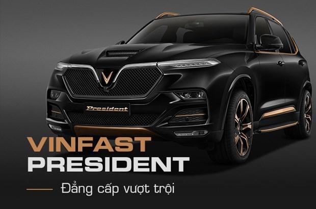 VinFast nang tam dang cap voi mau SUV hang sang President hinh anh 1