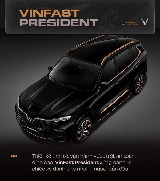 VinFast nang tam dang cap voi mau SUV hang sang President hinh anh 4