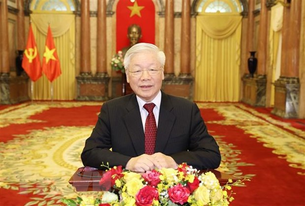 Lanh dao Viet Nam co thong diep nhan Tuan le cap cao Dai hoi dong LHQ hinh anh 1