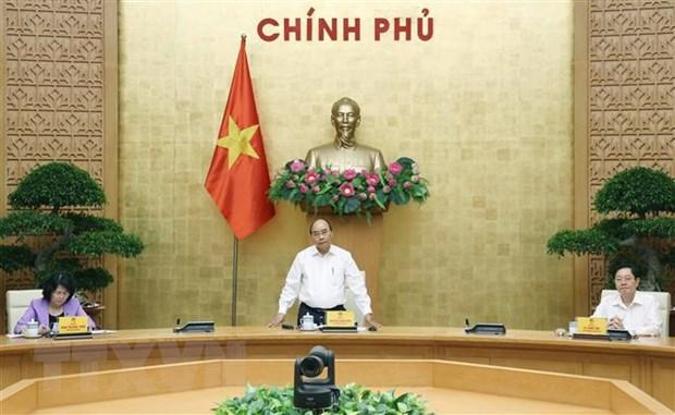 Thu tuong chu tri cuoc hop Hoi dong Thi dua-Khen thuong Trung uong hinh anh 1