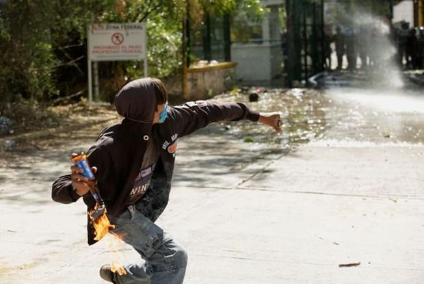 Mexico: Cang thang gia tang xung quanh viec chia se nguon nuoc voi My hinh anh 1