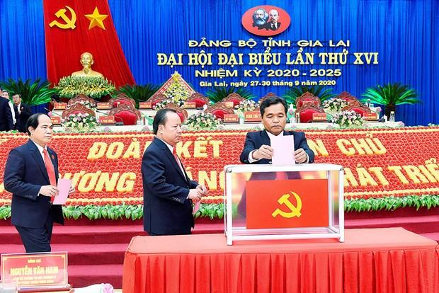 Ong Ho Van Nien giu chuc Bi thu Tinh uy Gia Lai nhiem ky 2020-2025 hinh anh 1