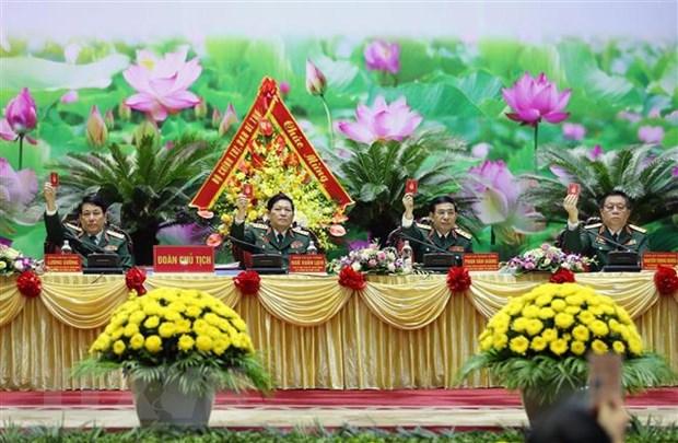 Be mac Dai hoi dai bieu Dang bo Quan doi lan thu XI nhiem ky 2020-2025 hinh anh 2