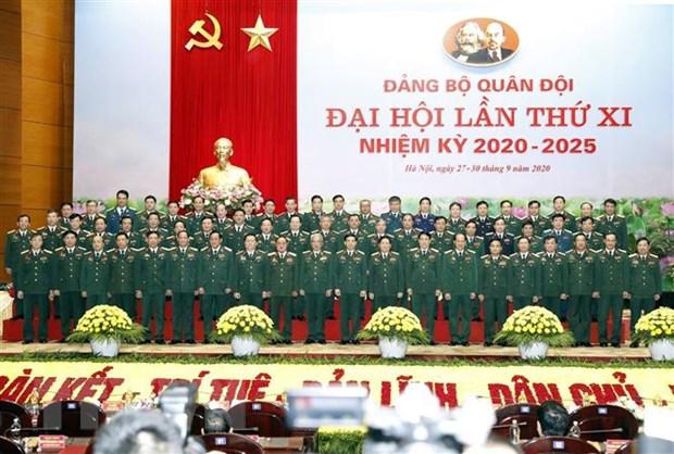 Be mac Dai hoi dai bieu Dang bo Quan doi lan thu XI nhiem ky 2020-2025 hinh anh 3