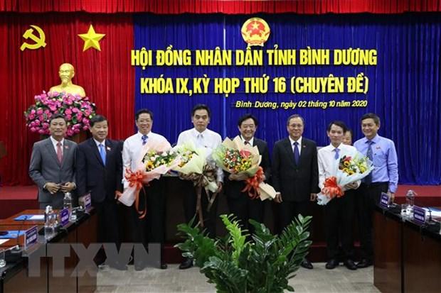 Bau bo sung Chu tich, Pho Chu tich tinh Binh Duong nhiem ky 2016-2021 hinh anh 2