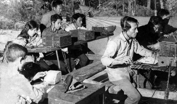 60 nam Thong tan xa Giai phong: Dau an ve ban tin dau tien hinh anh 4