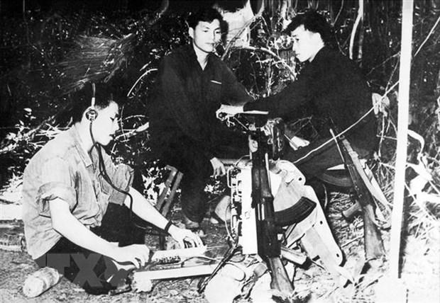 60 nam Thong tan xa Giai phong: Dau an ve ban tin dau tien hinh anh 2