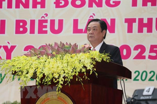 Khai mac Dai hoi Dai bieu Dang bo tinh Dong Thap lan thu XI hinh anh 2