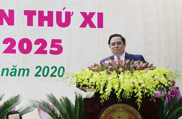 Khai mac Dai hoi Dai bieu Dang bo tinh Dong Thap lan thu XI hinh anh 1