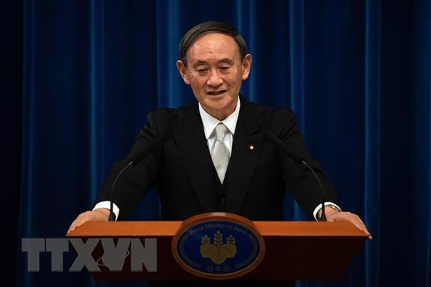 Tân Thủ tướng Nhật Bản Yoshihide Suga. (Ảnh: AFP/TTXVN)
