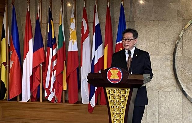 ASEAN va cac thuc the lien ket hop tac, hien thuc hoa Tam nhin 2025 hinh anh 1
