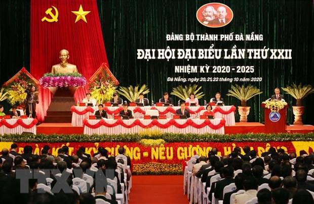 Khai mac Dai hoi Dang bo thanh pho Da Nang lan thu XXII hinh anh 2