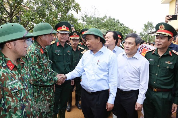 ''Tao dieu kien thuan loi cho hoat dong tai tro nhan dan vung lu'' hinh anh 1