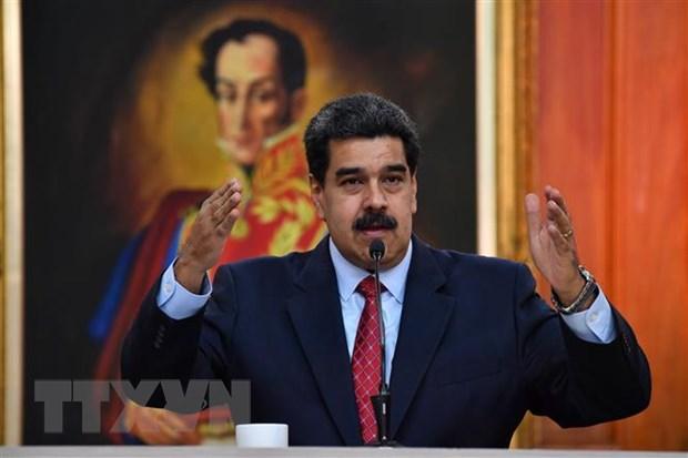 Tong thong Venezuela canh bao phe doi lap co am muu gay bat on hinh anh 1