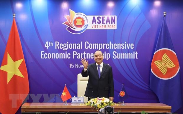 Khang dinh vai tro di dau cua ASEAN ung ho thuong mai da phuong hinh anh 1