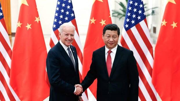 Bau cu My 2020: Chu tich Trung Quoc gui dien chuc mung ong Joe Biden hinh anh 1