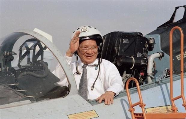 Dai tuong Le Duc Anh voi cach mang Viet Nam va que huong TT-Hue hinh anh 1