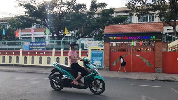 Thanh pho Ho Chi Minh tang cuong phong, chong dich trong truong hoc hinh anh 2