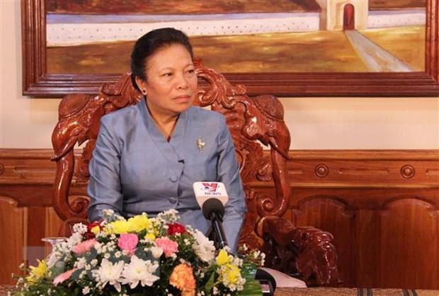 Thang loi cua Cach mang Lao gan voi hy sinh cua quan dan Viet Nam hinh anh 1