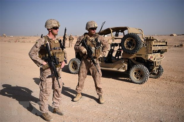 My se duy tri hai can cu lon tai Afghanistan sau khi giam quan so hinh anh 1