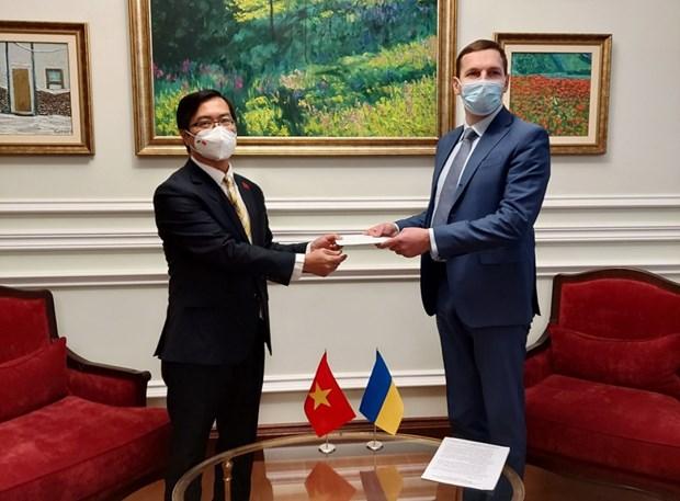 Ukraine danh gia tich cuc quan he huu nghi va hop tac voi Viet Nam hinh anh 1