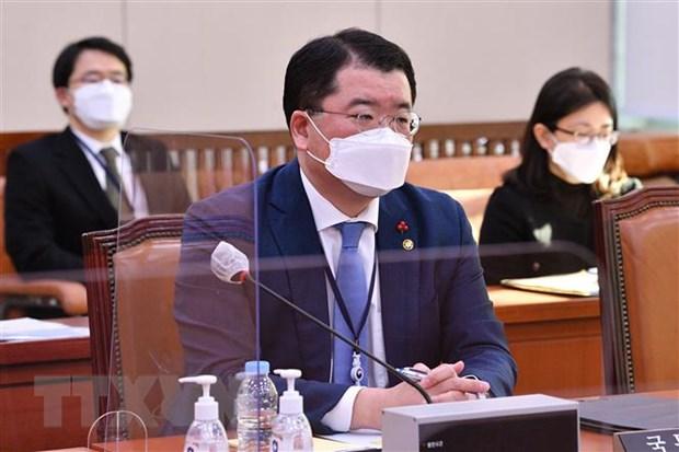 Thứ trưởng Ngoại giao thứ nhất Hàn Quốc Choi Jong-kun. Ảnh: Yonhap/TTXVN