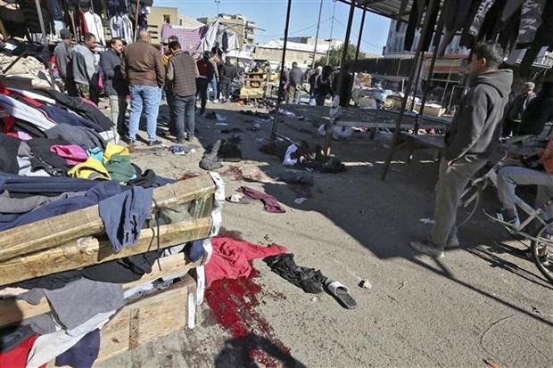 Danh bom lien hoan tai Iraq: Con so thuong vong tiep tuc tang hinh anh 1