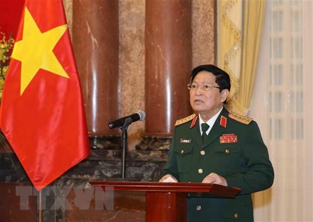 Thang quan ham Thuong tuong cho hai Thu truong Bo Quoc phong hinh anh 1
