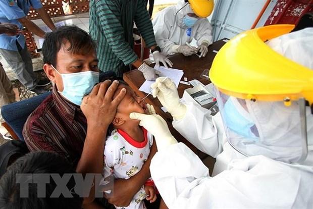 Indonesia ghi nhan so ca tu vong do COVID-19 cao chua tung thay hinh anh 1